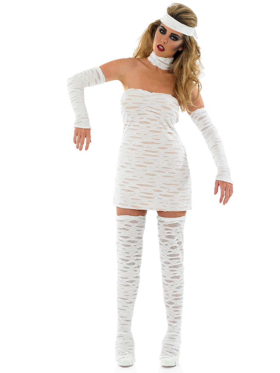 Sexy Mummy Costume Fancy Dress And Party