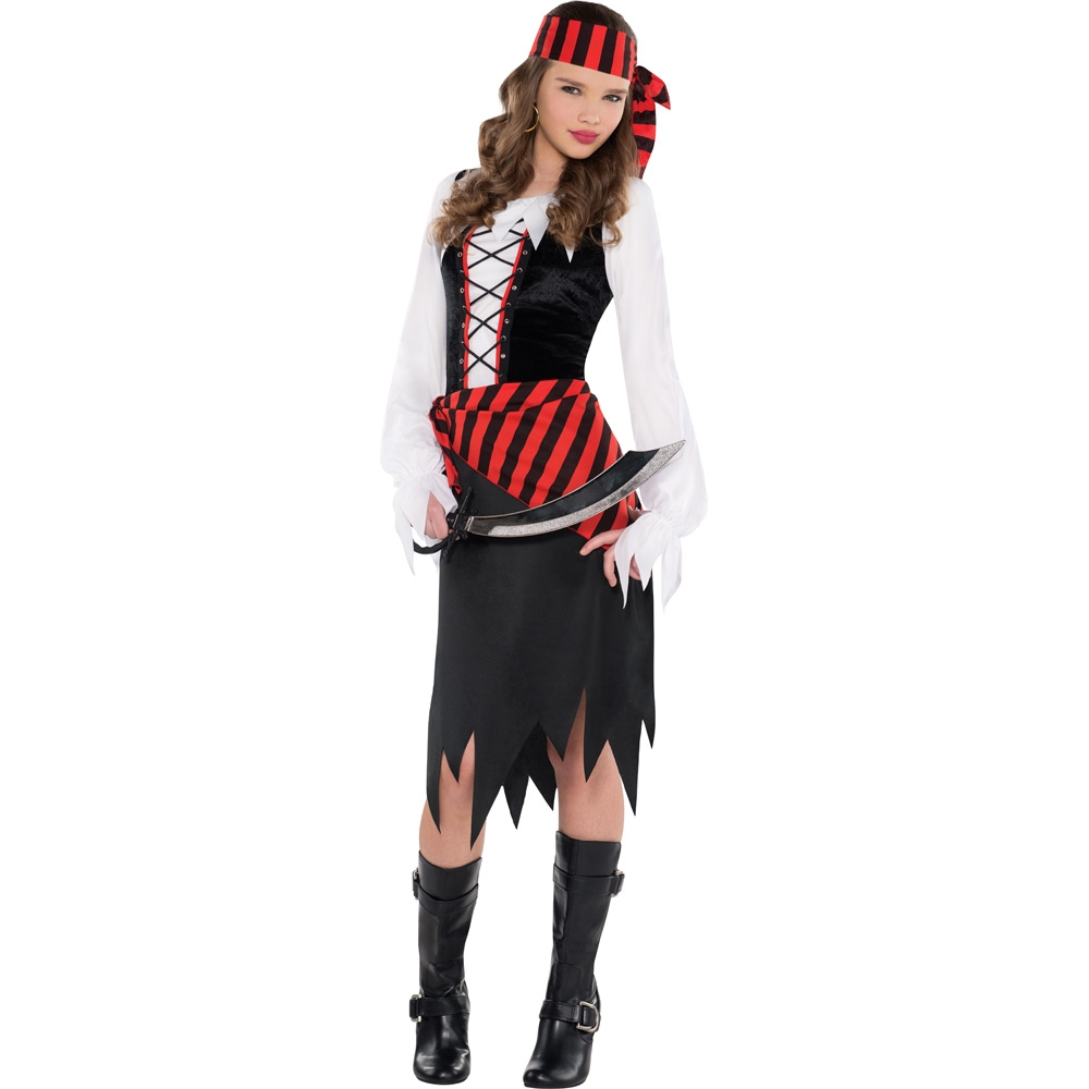 sc 1 st  Fancy Dress and Party & Teen Pirate Costume - Fancy Dress and Party