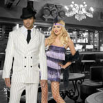 1920's Fancy Dress Costumes at Fancy Dress and Party