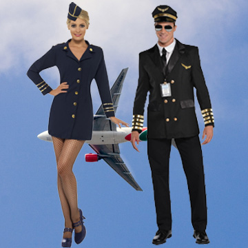 Air Hostess Fancy Dress Costumes
