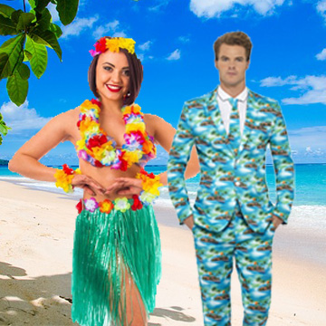 Hawaiian Fancy Dress Costumes