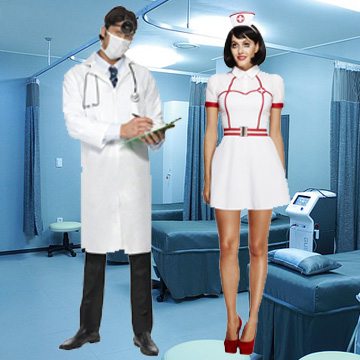 Nurse Fancy Dress Costumes