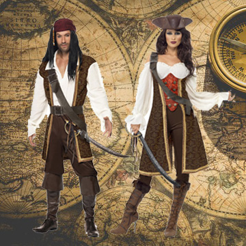 Pirate Fancy Dress Costumes