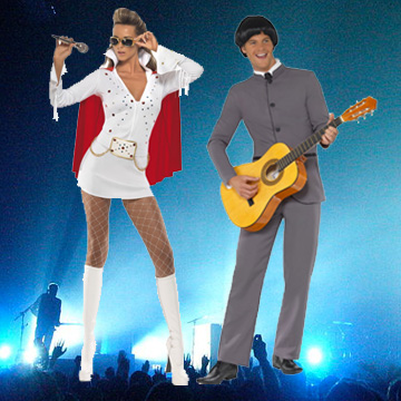 Pop Star Fancy Dress Costumes