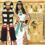 Egyptian Costumes at Fancy Dress and Party