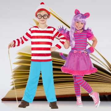 Kids Book Day Fancy Dress Costumes