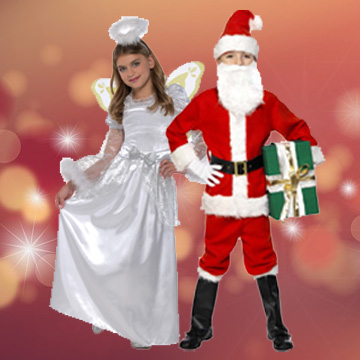 Kids Christmas Fancy Dress Costumes