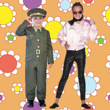 Kids Decades Fancy Dress Costumes