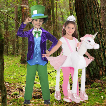 Kids Fairytale Fancy Dress Costumes