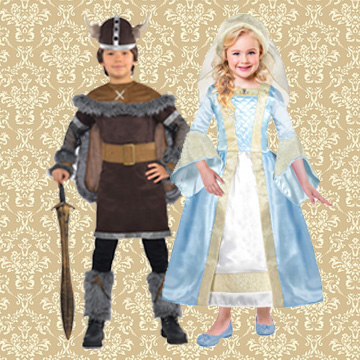 Kids Historical Fancy Dress Costumes