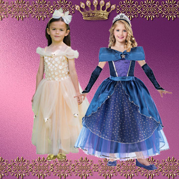 Kids Princess Fancy Dress Costumes