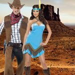 Wild West Fancy Dress Costumes at Fancy Dress and Party