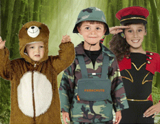 Kids Costumes at Fancy Dress and Party